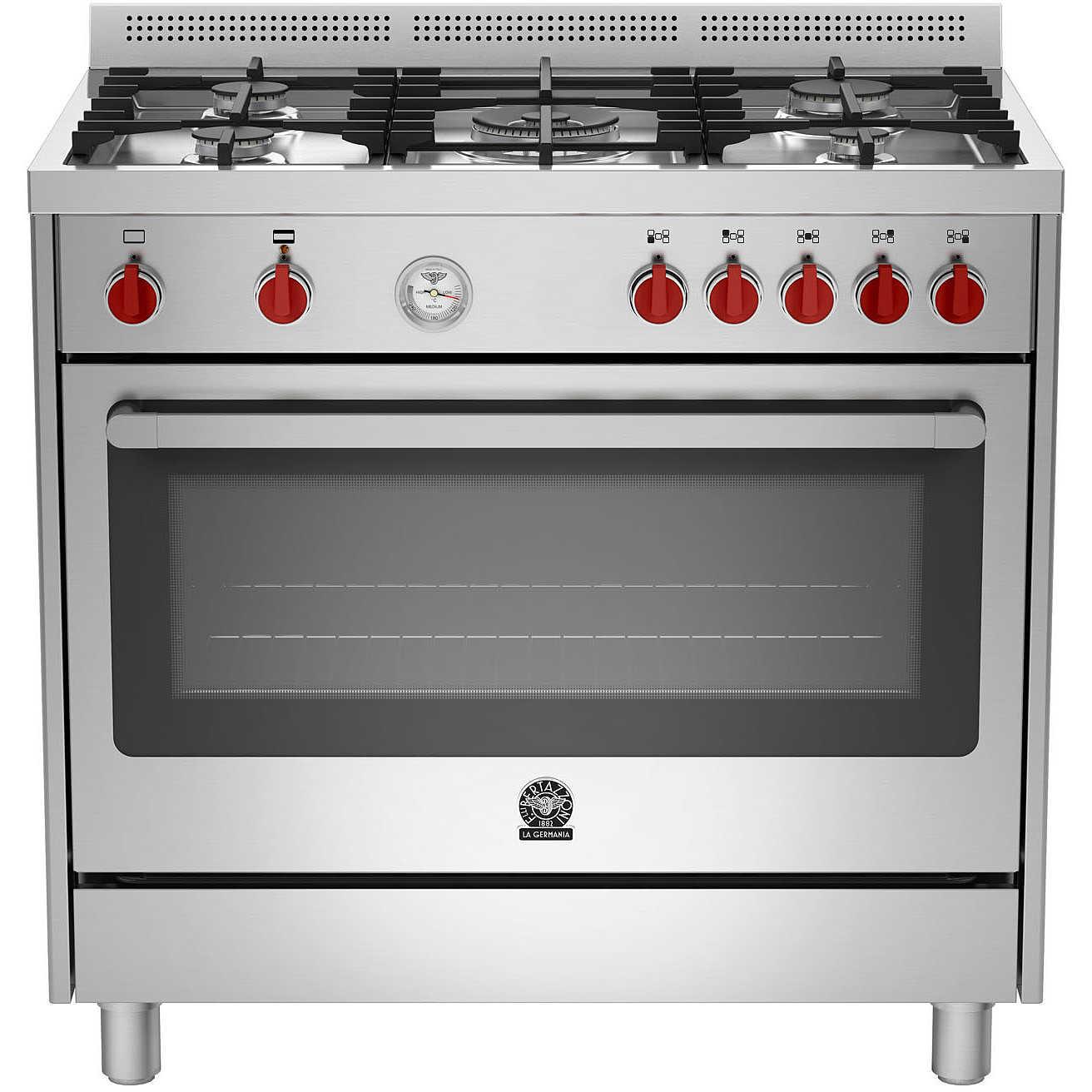 Cucina LaGermania 90x60 maxi forno gas ventilato ...